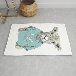 Baad to the bone - Sheep - Animal Love Rug