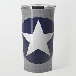 U.S. Military Aviation Star National Roundel Insignia Travel Mug