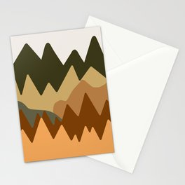 Abstract Landscape #11 Stationery Cards