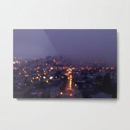 Fog. Metal Print