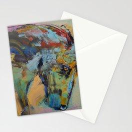 Horse Study Stationery Cards