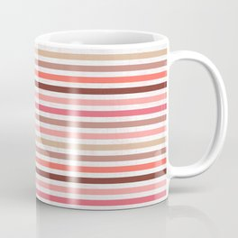 Earthy Stripes Coffee Mug