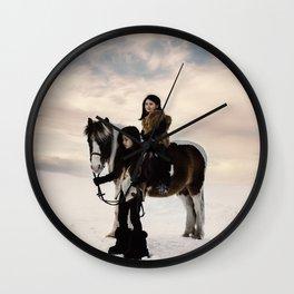 Le voyage des soeurs Koizumi II Wall Clock