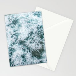 Waves in Abstract Stationery Cards