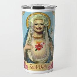 Saint Dolly Parton Travel Mug
