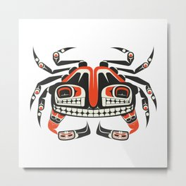 The Crab Metal Print