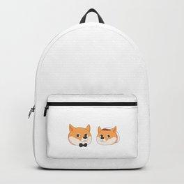 Shiba Inu Wedding Meme Backpack