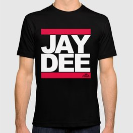 JAY DEE aka JDILLA (RUNDMC tribute) T-shirt