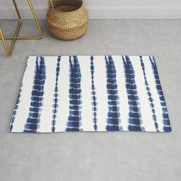Indigo Blue Tie Dye Delight Rug