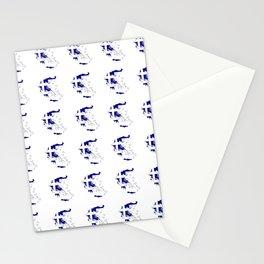Flag of greece 2 -Greek, Ελλάδα,hellas,hellenic, athens,sparte,aristotle. Stationery Cards
