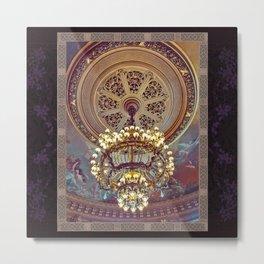 Victorian Painted Ceiling Metal Print