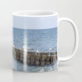 Seagull Relaxing Beach Summer Coffee Mug