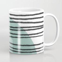 Lines and Color Series 5 | Modern art home decor, boho chic home, minimalist pattern Coffee Mug