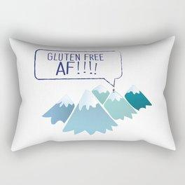 Gluten-Free AF Mountain Top Rectangular Pillow