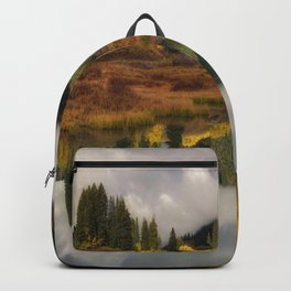 Transition Of The Seasons in Rocky Mountain Backpack
