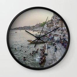 Varanasi horizontal  Wall Clock