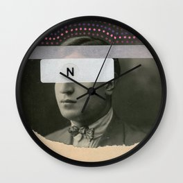 The N Factor Wall Clock