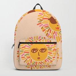 Retro Sunshine Party #positivevibes Backpack
