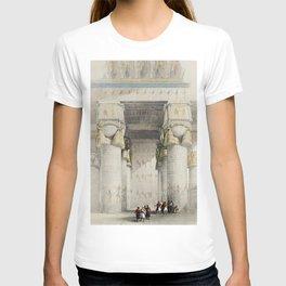 Karnak  by David Roberts (1796-1864) T-shirt