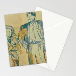 shoulder pads Stationery Cards