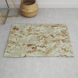 CAMOUFLAGE. Desert MARPAT camouflage pattern swatch. Rug