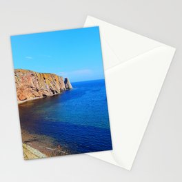 Perce Rock at Low Tide Stationery Cards
