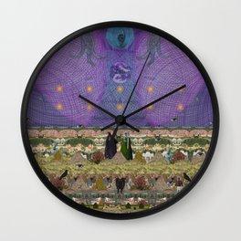 new earth rituals Wall Clock
