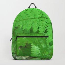 Green Fern Blurr Backpack