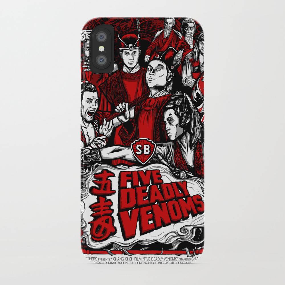 Five Deadly Venoms Movie Poster Phone Case by Legendaryweapons PCS7696440