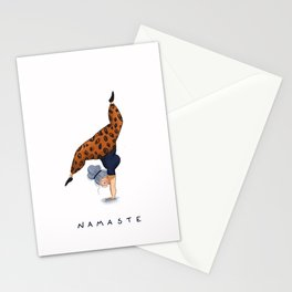 Hand Stand Stationery Cards