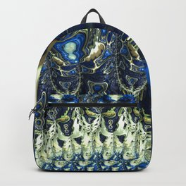Naughty Bunnies and Ghosts Putting Up Skull Garlands Backpack