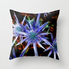 Stars on Earth Throw Pillow