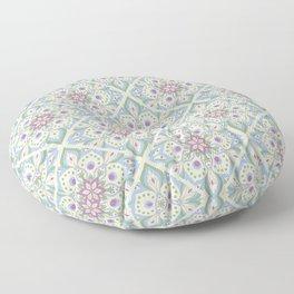 Light Colorfull Mandala Floor Pillow