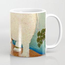 """The Elephant Pearl"" Fairy Tale Art by Edmund Dulac Coffee Mug"
