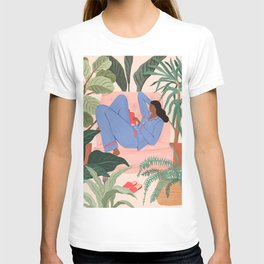 Reading with the Plants II T-shirt