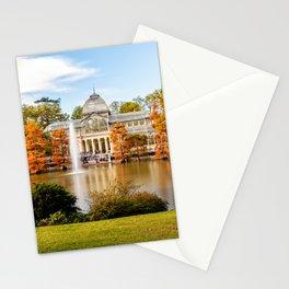 Glass Palace in Retiro Park Stationery Cards