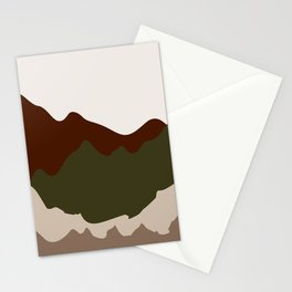 Abstract Landscape #7 Stationery Cards