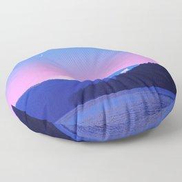 Mount Fuji Sunrise Floor Pillow