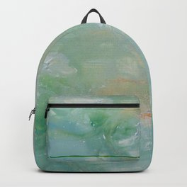 Roma Green Backpack