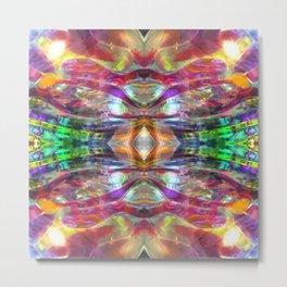 Abstract Glass Mandala 1565 Metal Print