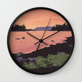 Pacific Rim National Park Reserve Wall Clock