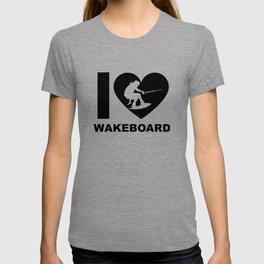 Wakeboarding waterskiing T-shirt