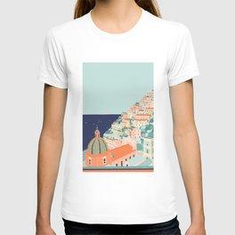 Amalfi coast, Positano, Italy T-shirt