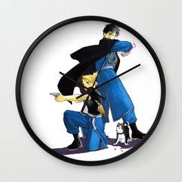 Fullmetal Alchemist - Roy & Riza Wall Clock