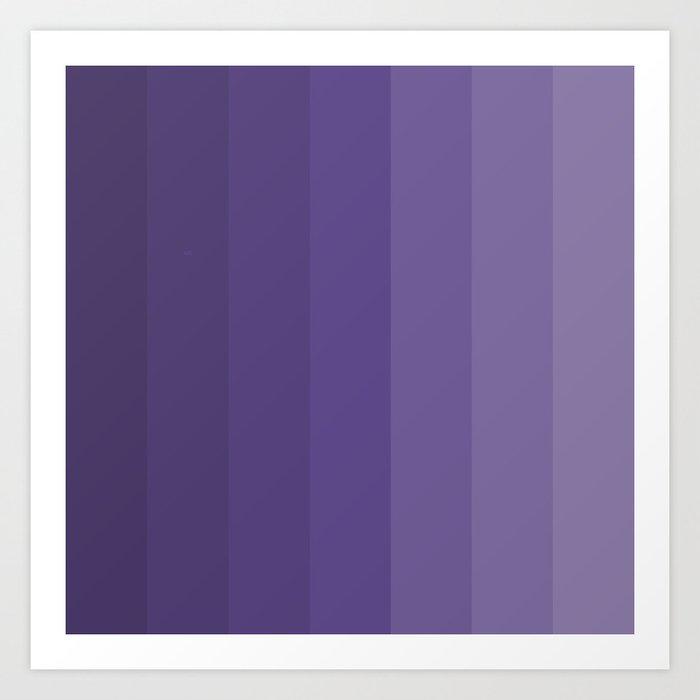 Ultra Violet - Family Color (Seven brothers) Kunstdrucke
