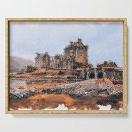 Eilean Donan Castle Serving Tray