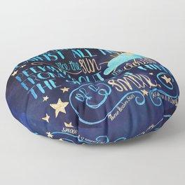 These Broken Stars - Smile Floor Pillow