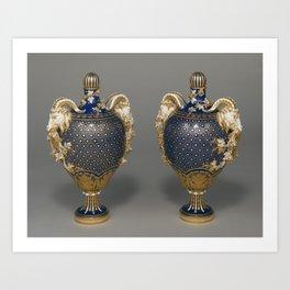 Lidded Vases Art Print