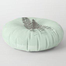Forest Fern Prin Floor Pillow