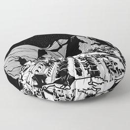 Machu Picchu Floor Pillow